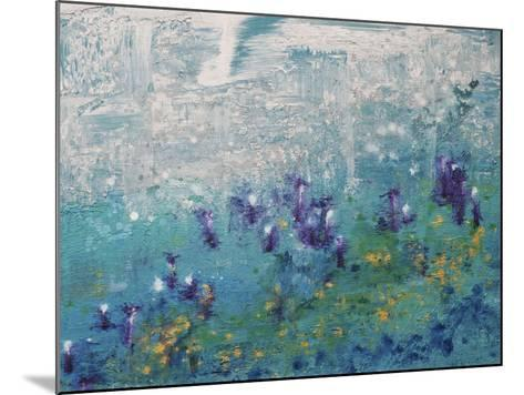 Silver Gardenscape-Hilary Winfield-Mounted Giclee Print