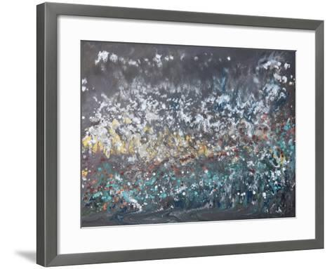 Stellar Expansion 2-Hilary Winfield-Framed Art Print