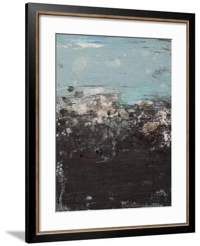 Canvas 3 - Lithosphere 103-Hilary Winfield-Framed Art Print