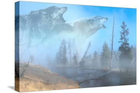 Spirits of Yellowstone-Gordon Semmens-Stretched Canvas Print