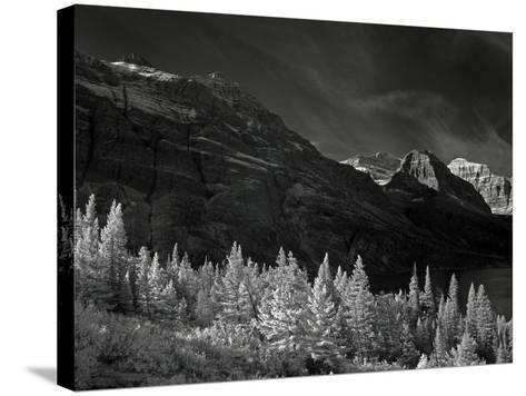 Glacier Park I-J.D. Mcfarlan-Stretched Canvas Print