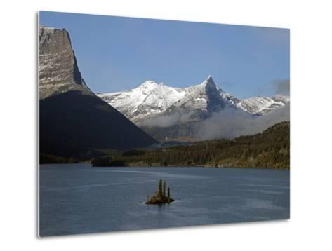 Glacier Park II-J.D. Mcfarlan-Metal Print