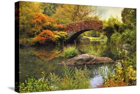 Gapstow Bridge Serenity-Jessica Jenney-Stretched Canvas Print