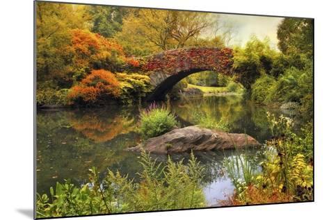 Gapstow Bridge Serenity-Jessica Jenney-Mounted Giclee Print