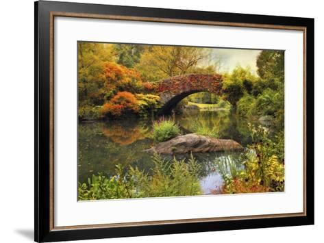 Gapstow Bridge Serenity-Jessica Jenney-Framed Art Print