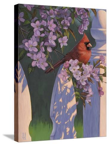 Crimson Evening-Jeffrey Hoff-Stretched Canvas Print