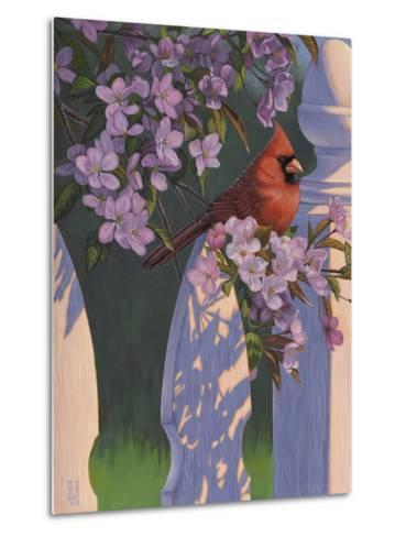 Crimson Evening-Jeffrey Hoff-Metal Print