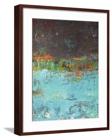 Lithosphere LXXX-Hilary Winfield-Framed Art Print