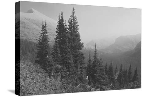 Glacier 3-Gordon Semmens-Stretched Canvas Print