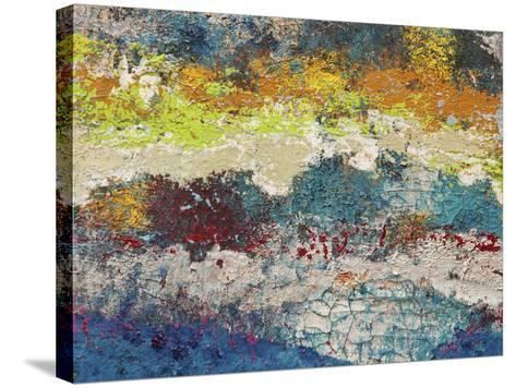 Mountain Trek-Hilary Winfield-Stretched Canvas Print