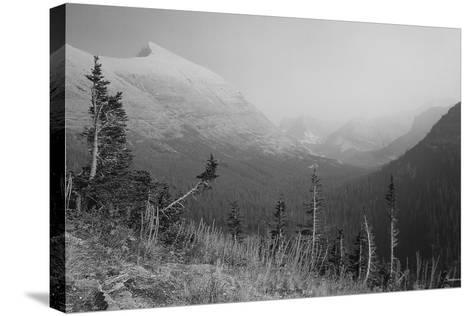 Glacier 1-Gordon Semmens-Stretched Canvas Print