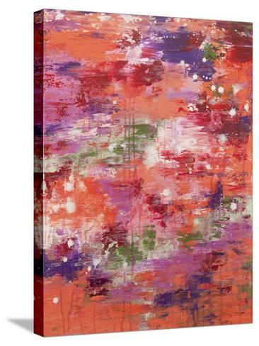 Flower Garden-Hilary Winfield-Stretched Canvas Print