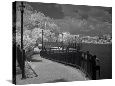 Augusta Riverwalk-J.D. Mcfarlan-Stretched Canvas Print