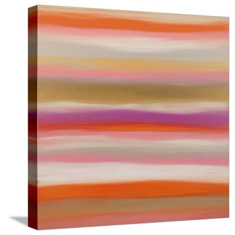 Sunset 10-Hilary Winfield-Stretched Canvas Print