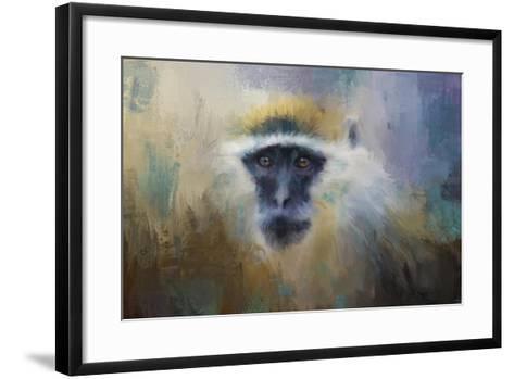 African Grivet Monkey-Jai Johnson-Framed Art Print