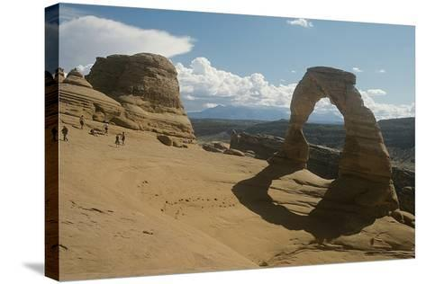 Arches 26-Gordon Semmens-Stretched Canvas Print