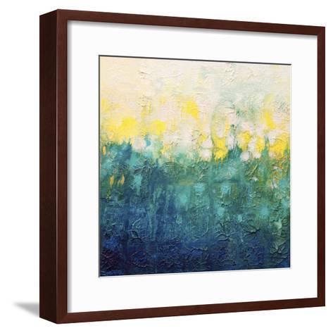 Topography 1-Hilary Winfield-Framed Art Print