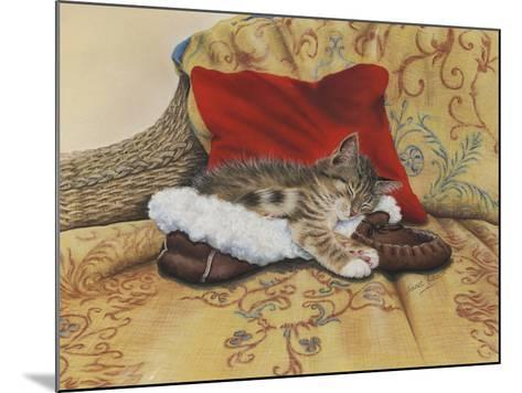 Comfy Slipper-Janet Pidoux-Mounted Giclee Print
