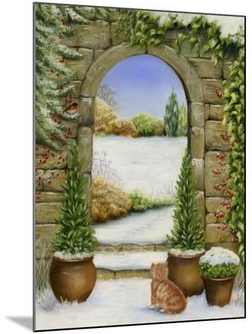Christmas Garden-Janet Pidoux-Mounted Giclee Print