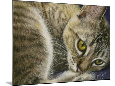 Bright Eyes-Janet Pidoux-Mounted Giclee Print
