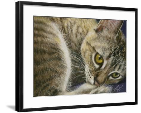 Bright Eyes-Janet Pidoux-Framed Art Print