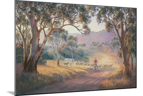 Rounding Up the Stragglers-John Bradley-Mounted Giclee Print