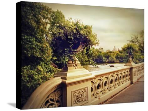 Bow Bridge View-Jessica Jenney-Stretched Canvas Print