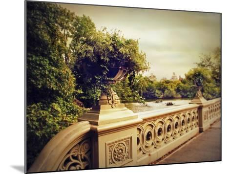 Bow Bridge View-Jessica Jenney-Mounted Giclee Print