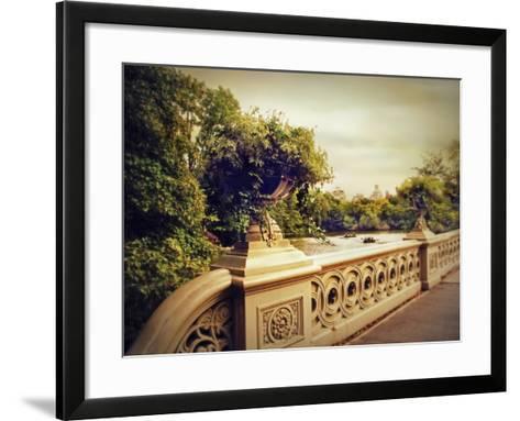 Bow Bridge View-Jessica Jenney-Framed Art Print