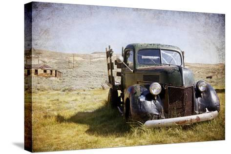 Ford V8-Jessica Rogers-Stretched Canvas Print