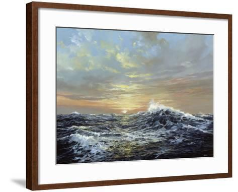 The Endless Sea-Jack Wemp-Framed Art Print