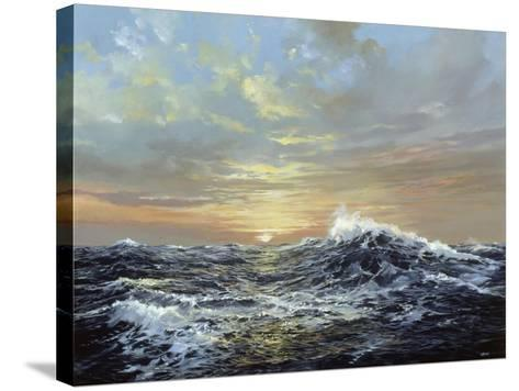 The Endless Sea-Jack Wemp-Stretched Canvas Print
