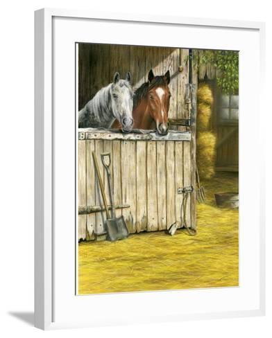 Friends-Janet Pidoux-Framed Art Print