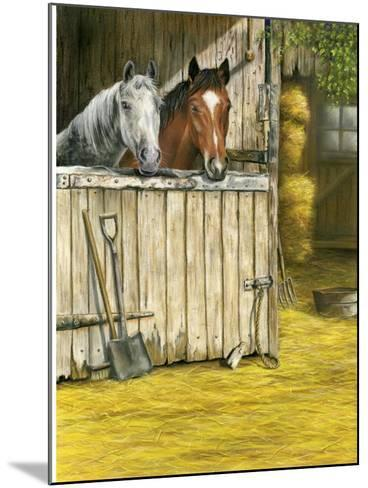 Friends-Janet Pidoux-Mounted Giclee Print