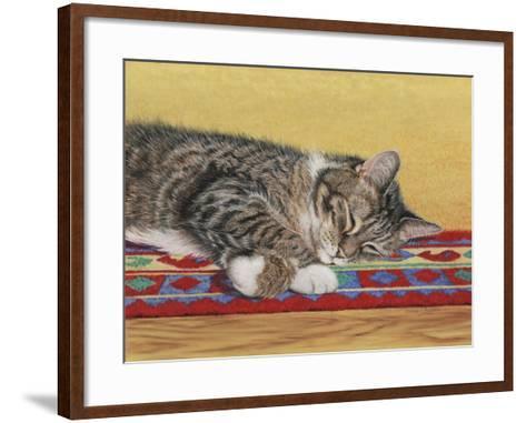 Sleepy Sam-Janet Pidoux-Framed Art Print