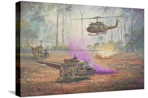 Hot Extraction 11-John Bradley-Stretched Canvas Print