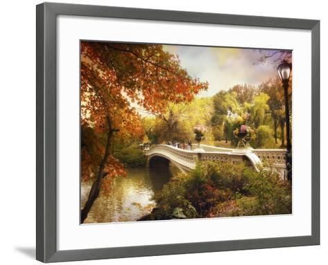 Bow Bridge Crossing-Jessica Jenney-Framed Art Print