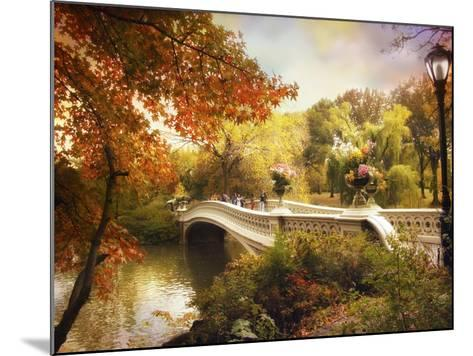 Bow Bridge Crossing-Jessica Jenney-Mounted Giclee Print