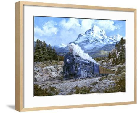 Locomotive 4-Jack Wemp-Framed Art Print