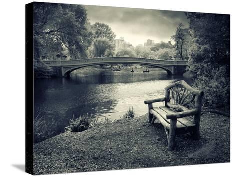 Bow Bridge Nostalgia-Jessica Jenney-Stretched Canvas Print