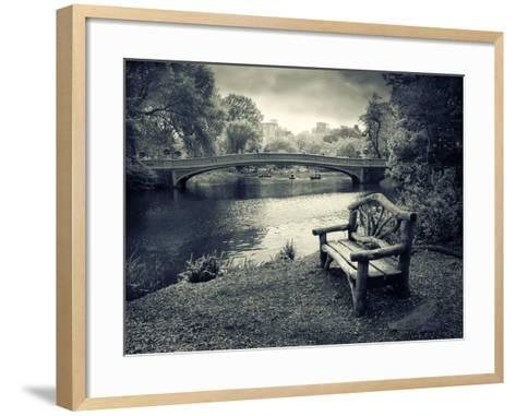 Bow Bridge Nostalgia-Jessica Jenney-Framed Art Print