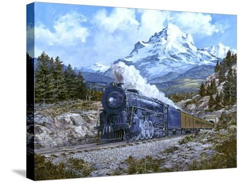 Locomotive 4-Jack Wemp-Stretched Canvas Print
