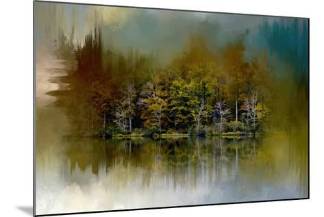 Abstract Summer Lake-Jai Johnson-Mounted Giclee Print