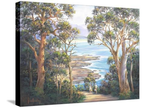 Dudley Picnic-John Bradley-Stretched Canvas Print