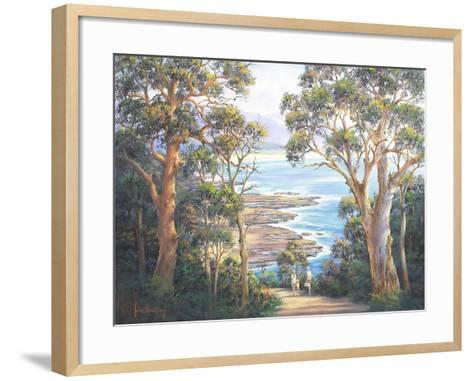 Dudley Picnic-John Bradley-Framed Art Print