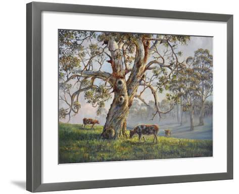 Gresford Gum 2-John Bradley-Framed Art Print
