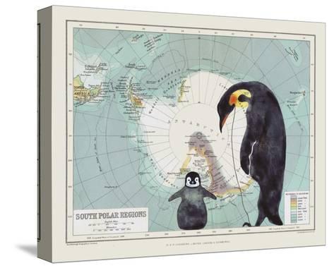 Antartica-Jane Wilson-Stretched Canvas Print