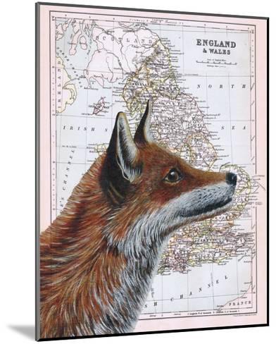 British Fox-Jane Wilson-Mounted Giclee Print