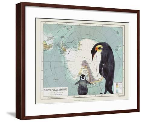 Antartica-Jane Wilson-Framed Art Print