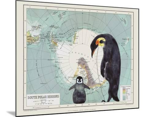 Antartica-Jane Wilson-Mounted Giclee Print
